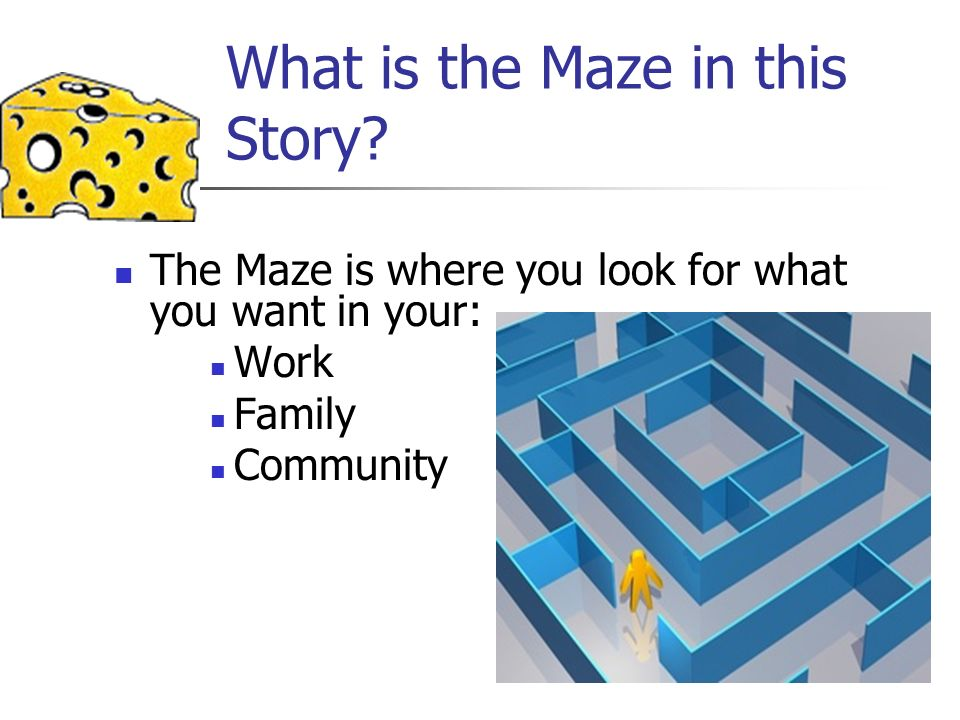 What is the Maze in this Story