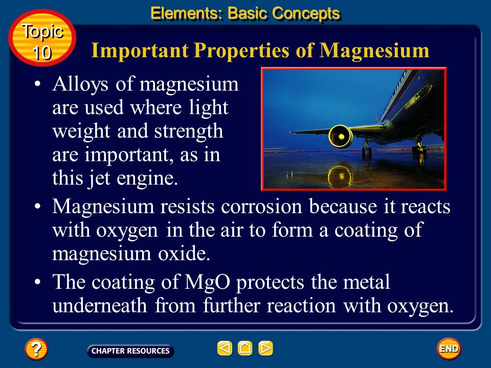 Important Properties of Magnesium