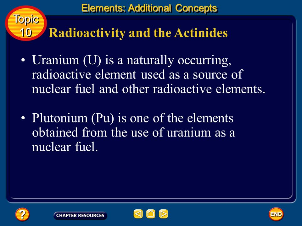 Radioactivity and the Actinides