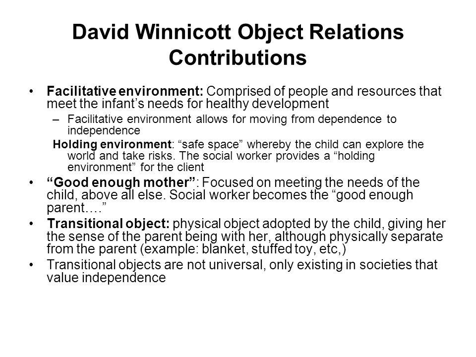 winnicott holding