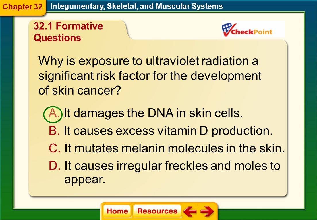 Why is exposure to ultraviolet radiation a