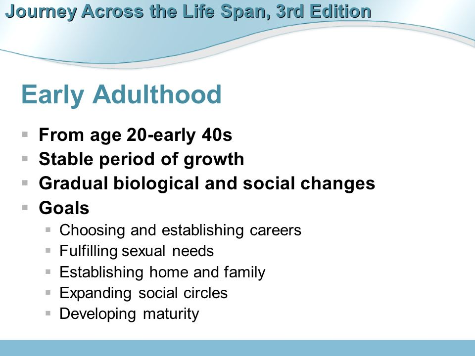 Chapter 11 Early Adulthood  - ppt download