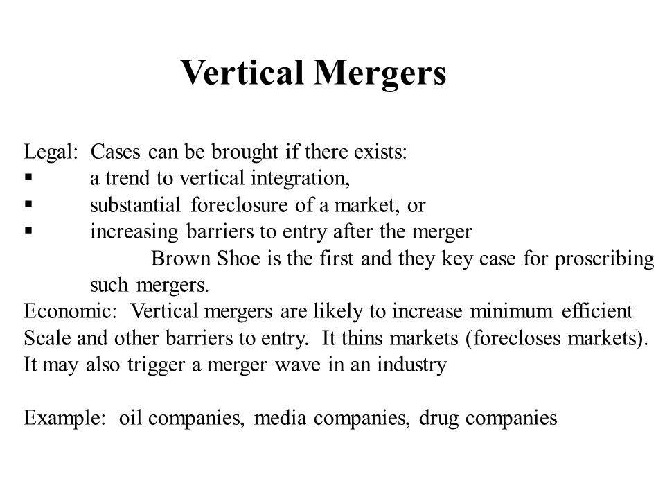 Mergers Clayton 7 As Amended By The Celler Kefauver Act Ppt Download