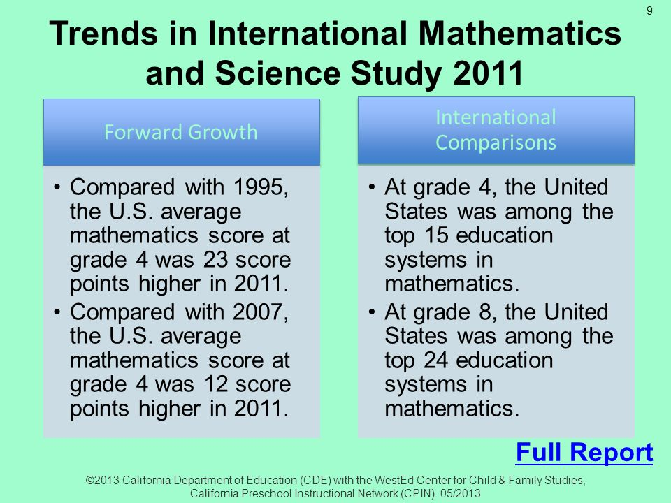 Trends in International Mathematics and Science Study 2011