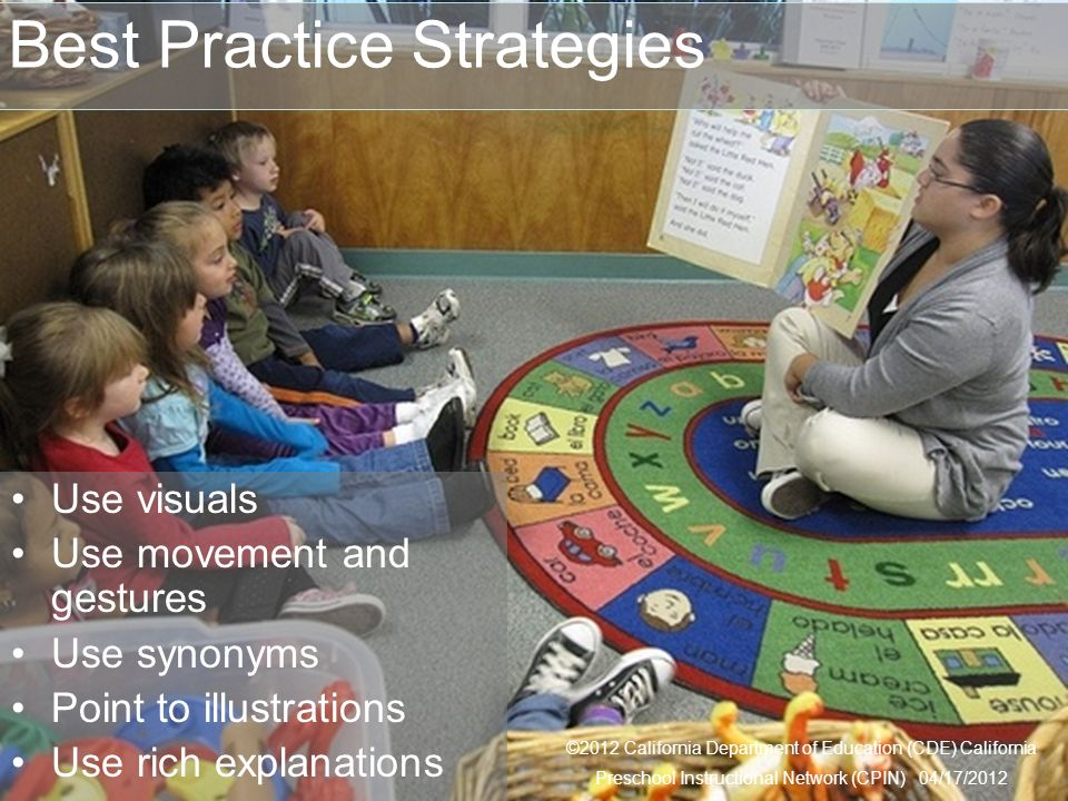 Best Practice Strategies