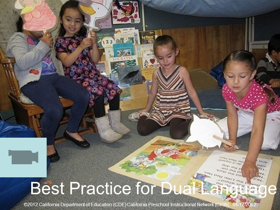 Best Practice for Dual Language