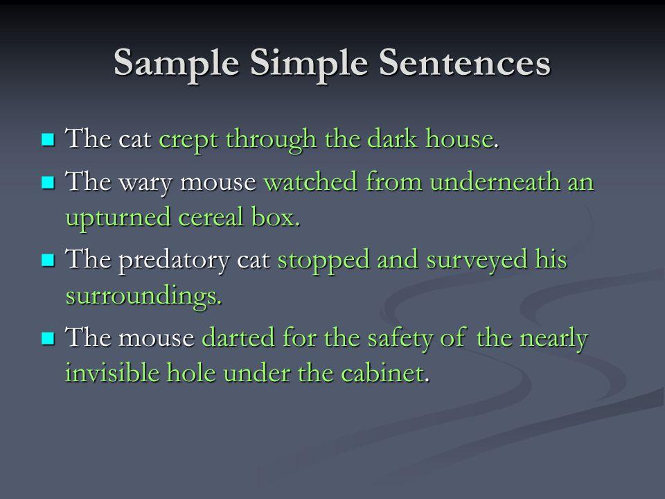 Compound sentence mrs. Mackay's english language arts.