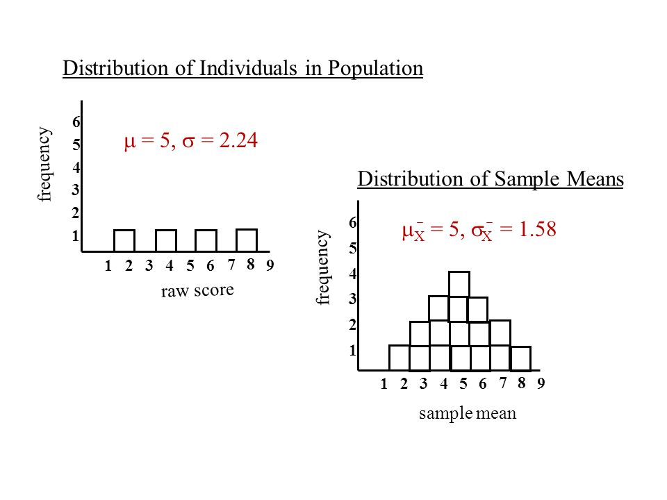 Distribution of Individuals in Population