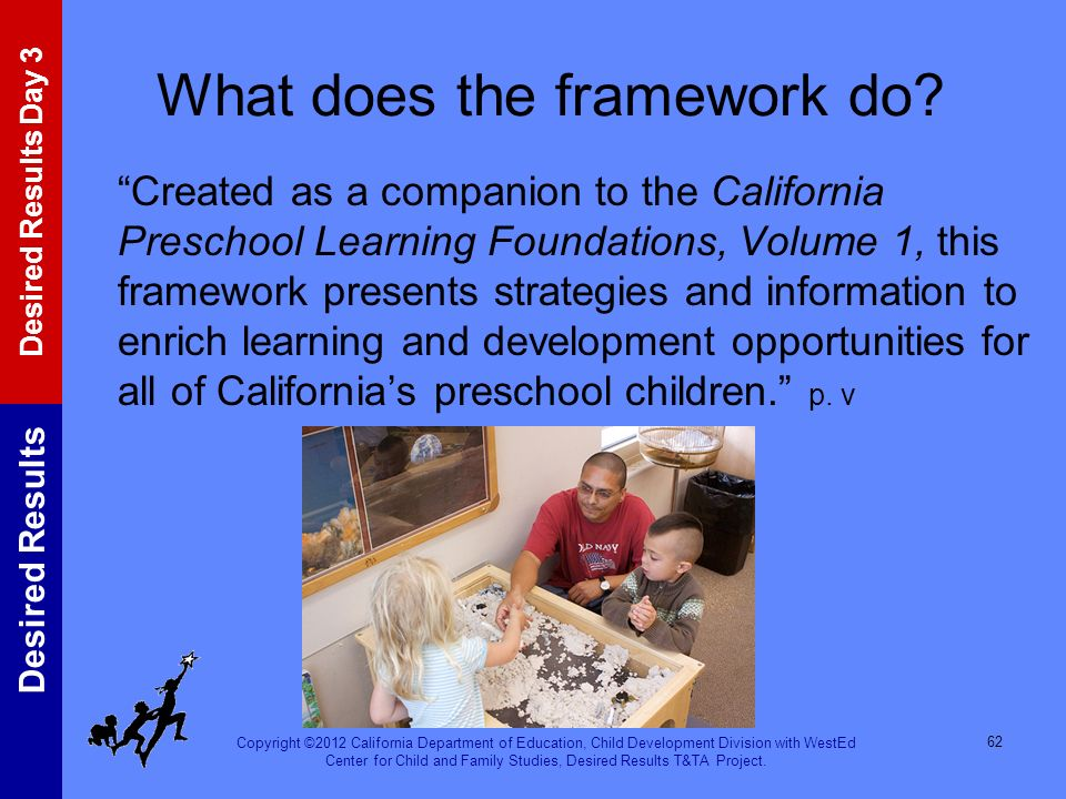 What does the framework do