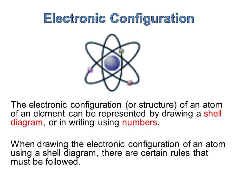 Electronic configuration of an atom ppt video online download 7 electronic configuration ccuart Choice Image