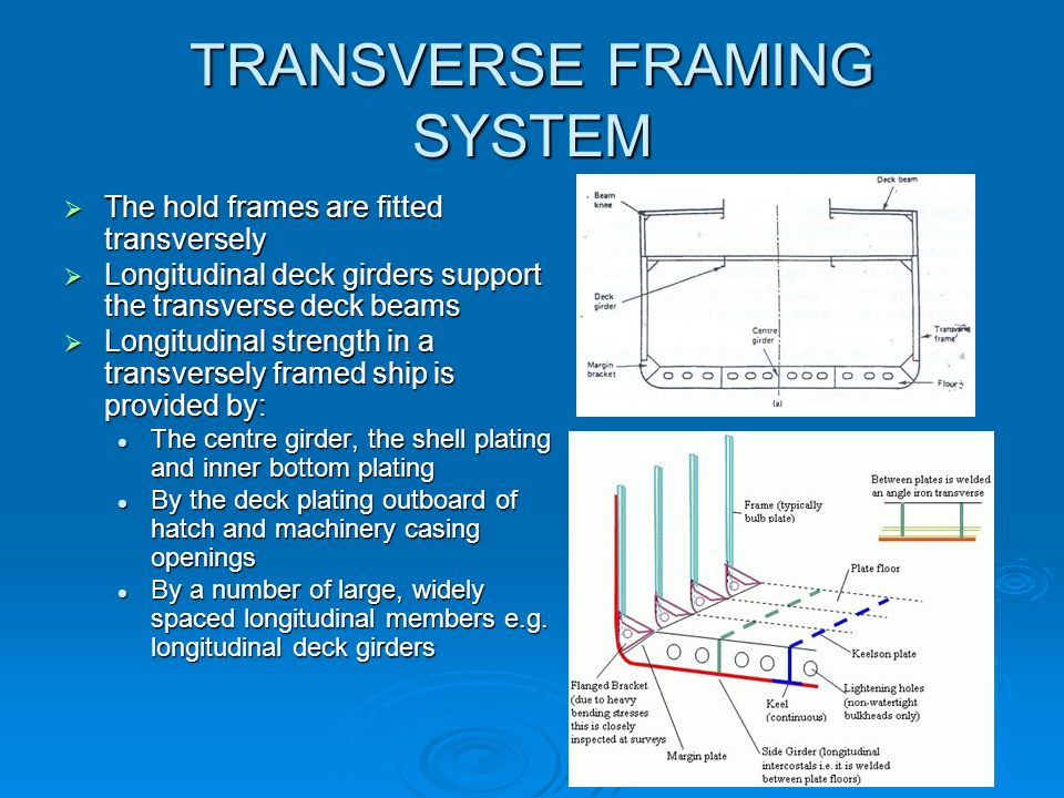 TRANSVERSE+FRAMING+SYSTEM hull framing systems group c dms(do) ppt video online download