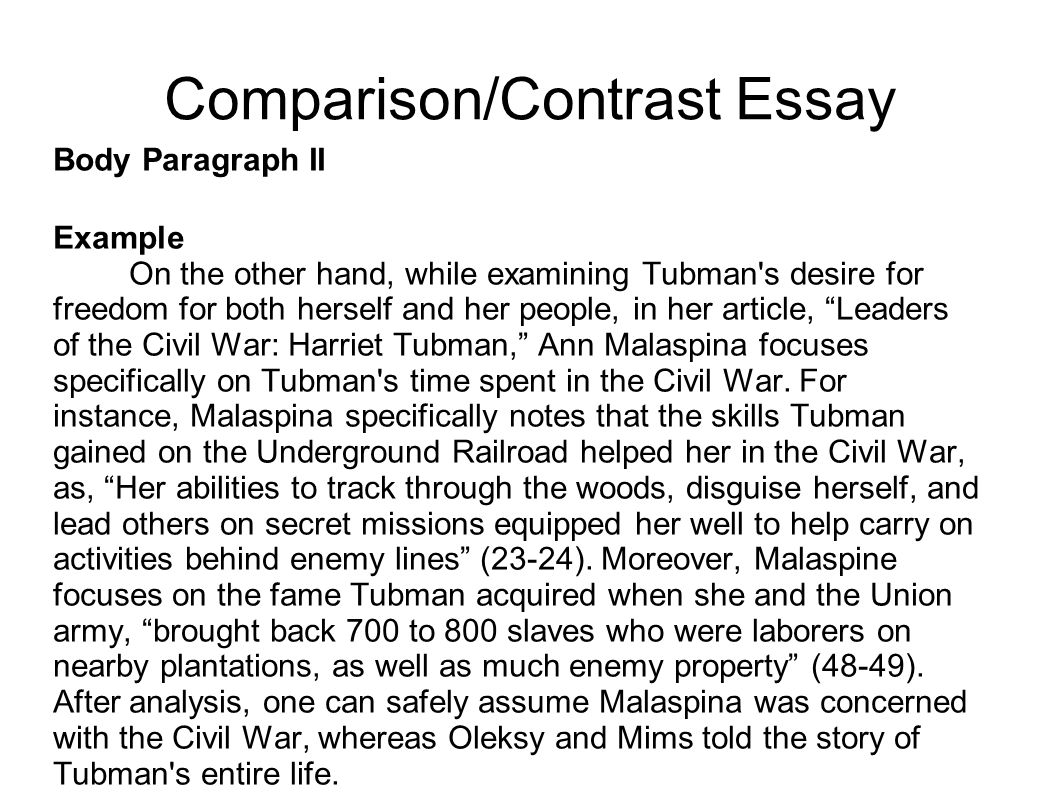 Example of essay with introduction body and conclusion
