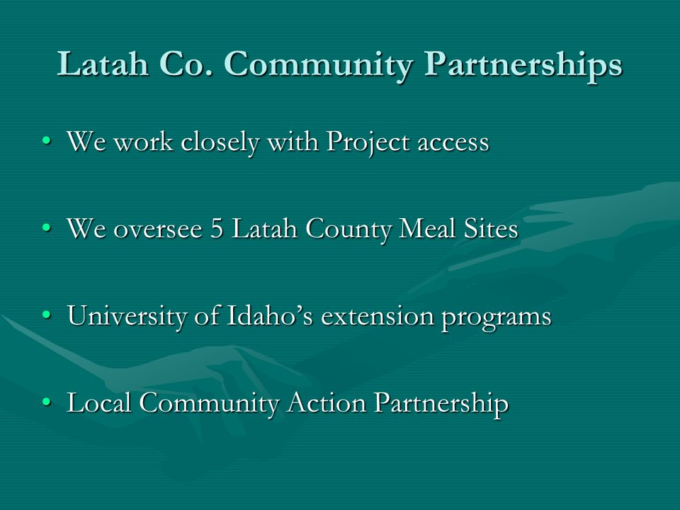 Latah Co. Community Partnerships