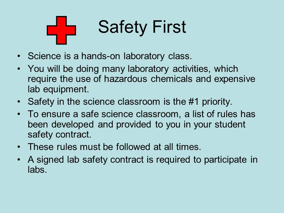 Classroom Safety Equipment - ppt download