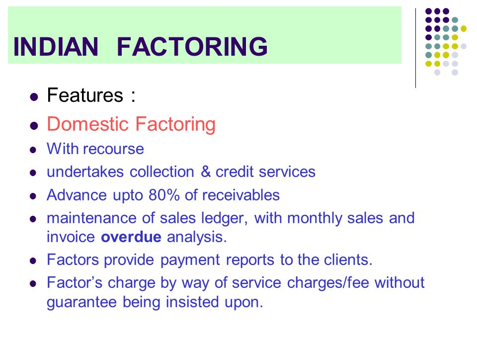Factoring and Forfaiting - ppt download