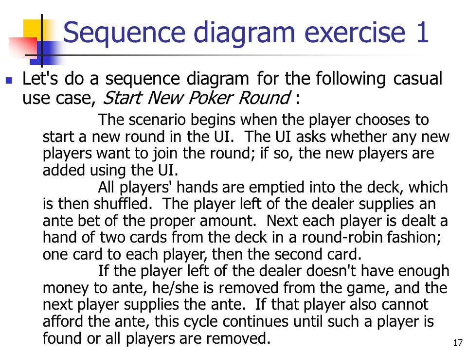 Sequence diagrams ppt video online download sequence diagram exercise 1 ccuart Gallery