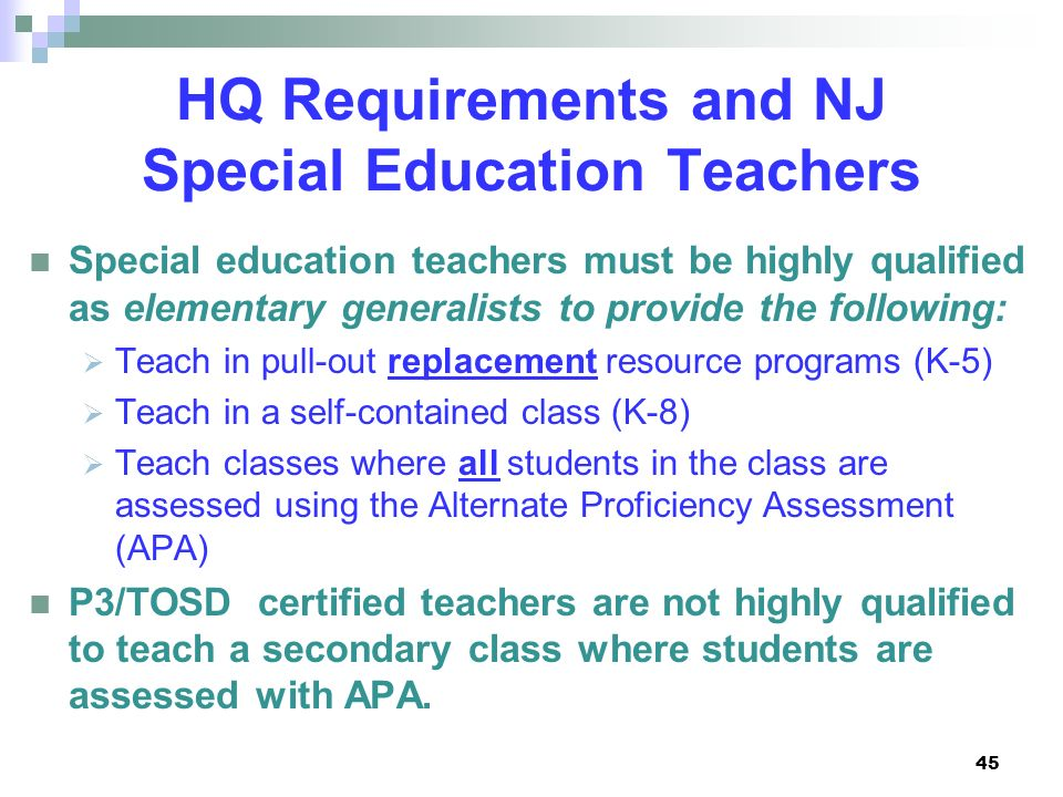 New Jersey Department Of Education Ppt Download
