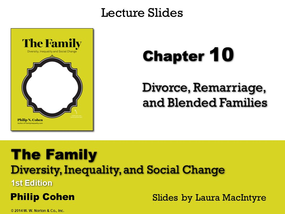 Divorce, Remarriage, and Blended Families