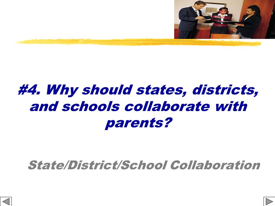 State/District/School Collaboration