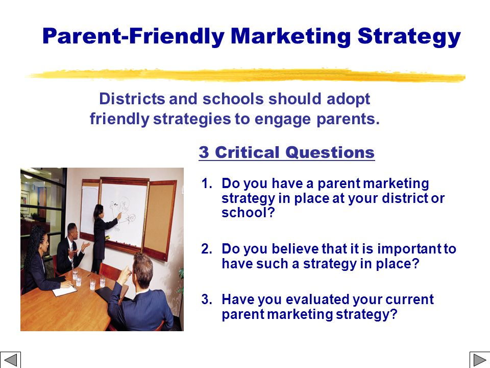Parent-Friendly Marketing Strategy