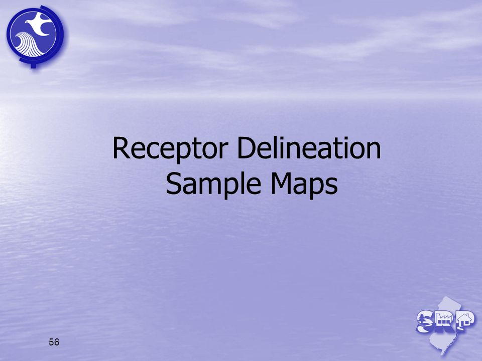 Receptor Delineation Sample Maps