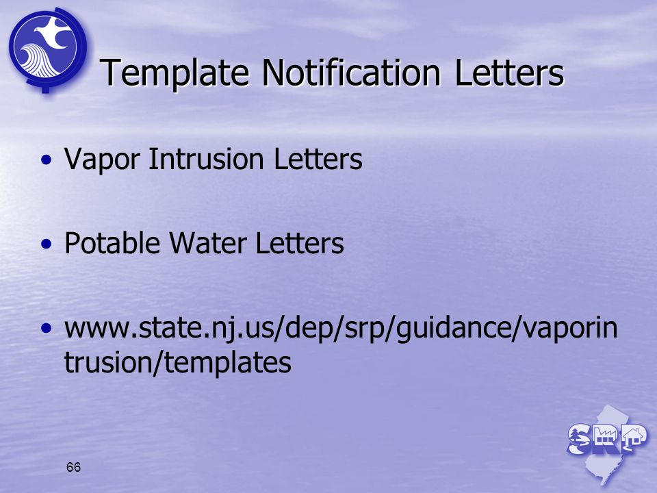 Template Notification Letters