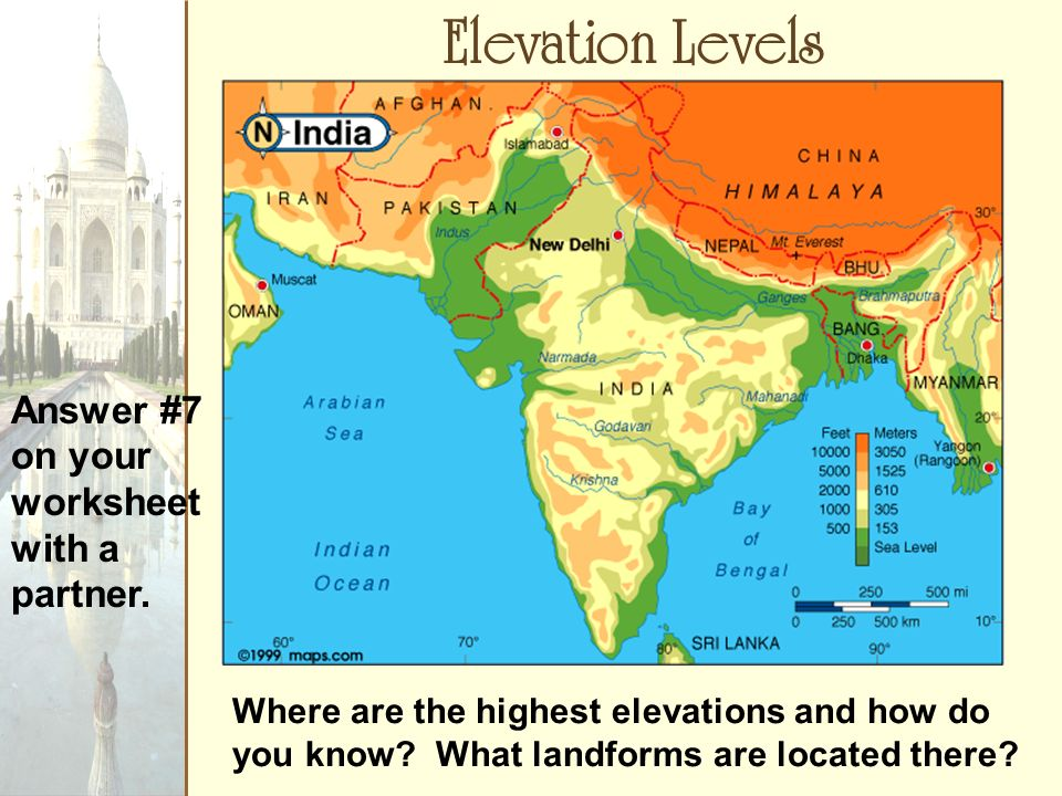 The Geography Of South Asia Answer 1 On Your Worksheet Ppt Download