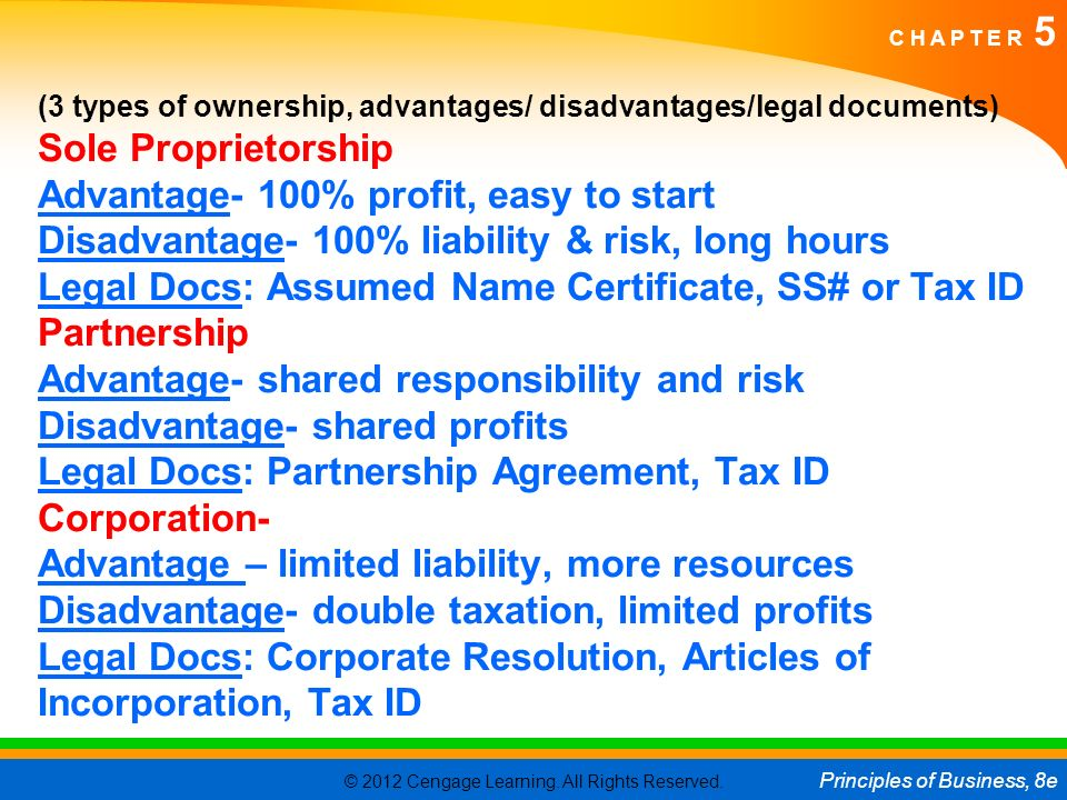 BUSINESS ORGANIZATION Business In The US Economy Ppt Download - Corporation legal documents