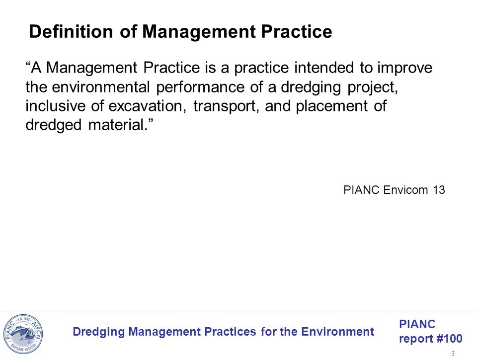 Definition of Management Practice