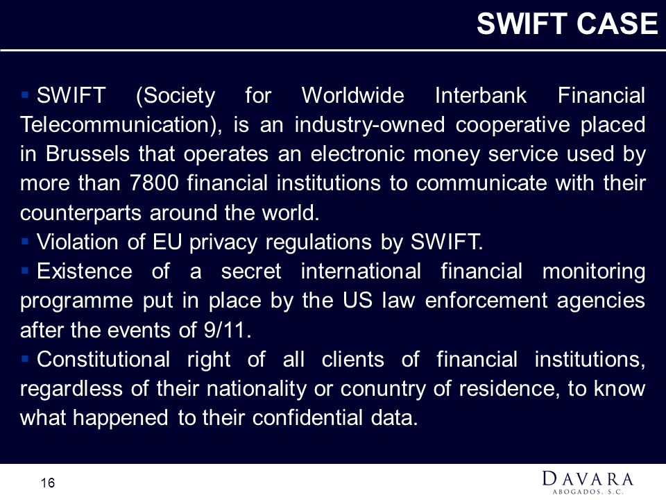SWIFT CASE