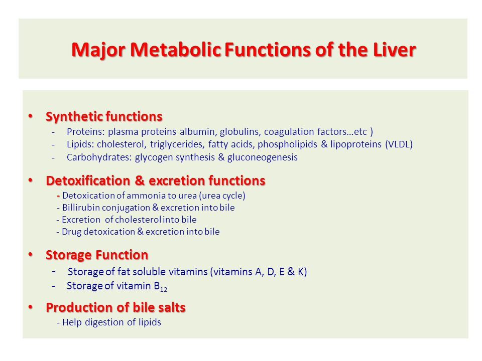 Liver Function Tests (LFTs) - ppt video online download