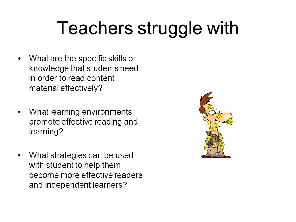 Teachers struggle with