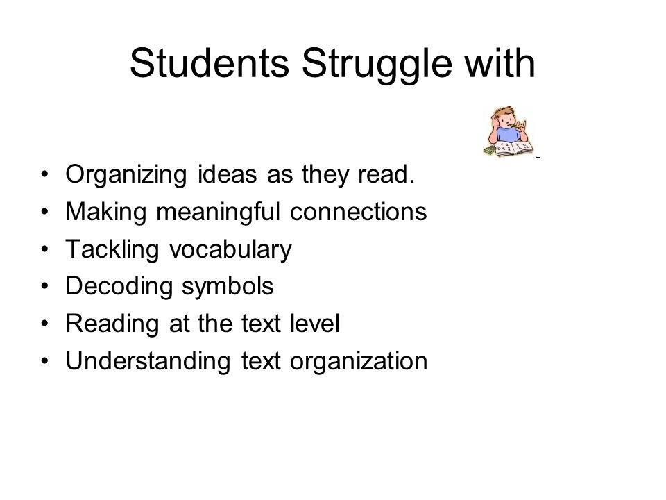 Students Struggle with