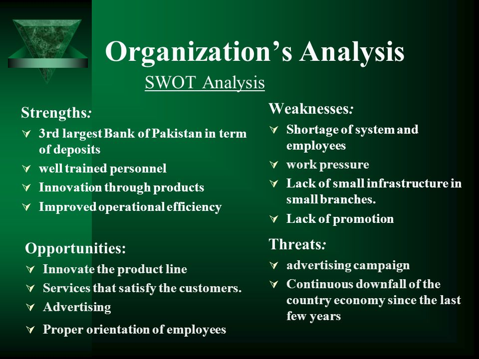 analysis of he organisations in pakistan Pakistan has important strategic endowments and development potential the increasing proportion of pakistan's youth provides the country with a potential demographic dividend and a challenge to provide adequate services and employment.