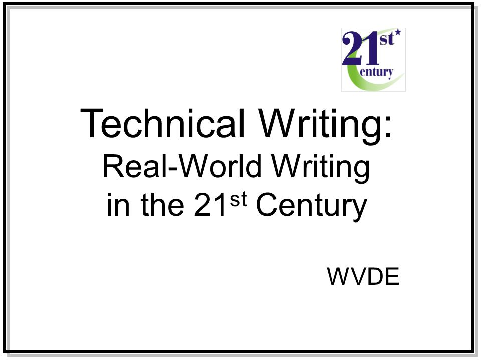 what is technical writing pdf