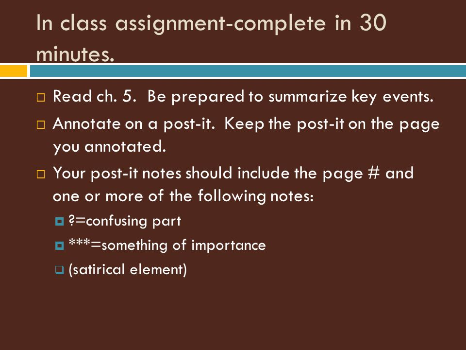 Animal Farm Chapter Ppt Video Online Download