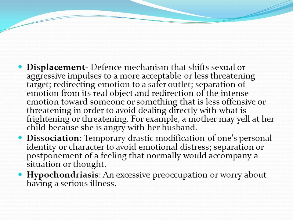 Defense Mechanisms Ppt Video Online Download