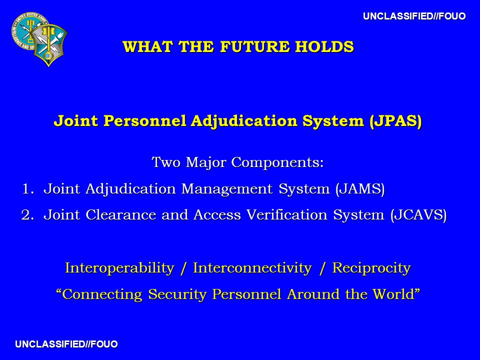 PERSONNEL SECURITY PROGRAM CHANGES PLANNED - ppt download