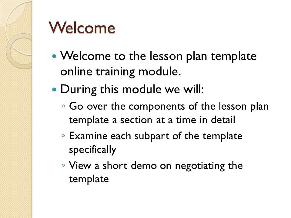 lesson plan template online