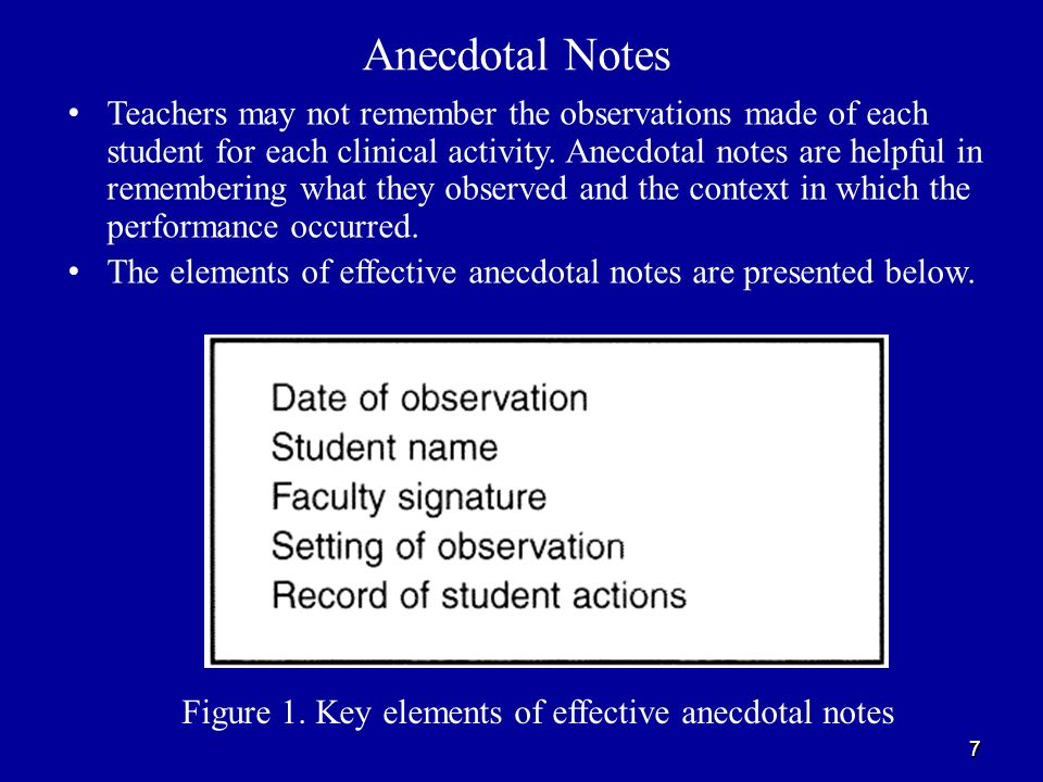 Observations As A Clinical Evaluation Method In Nursing