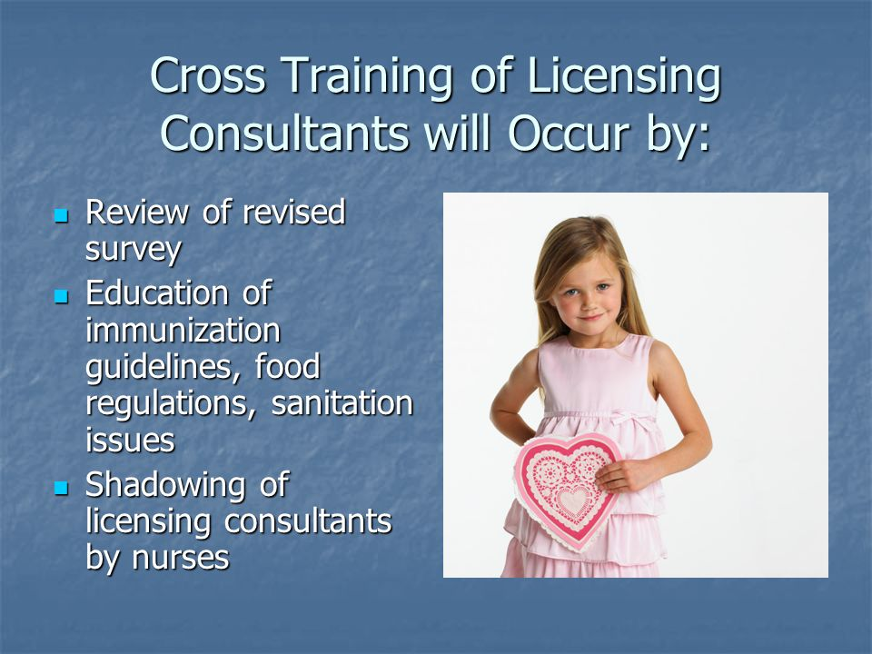 Cross Training of Licensing Consultants will Occur by: