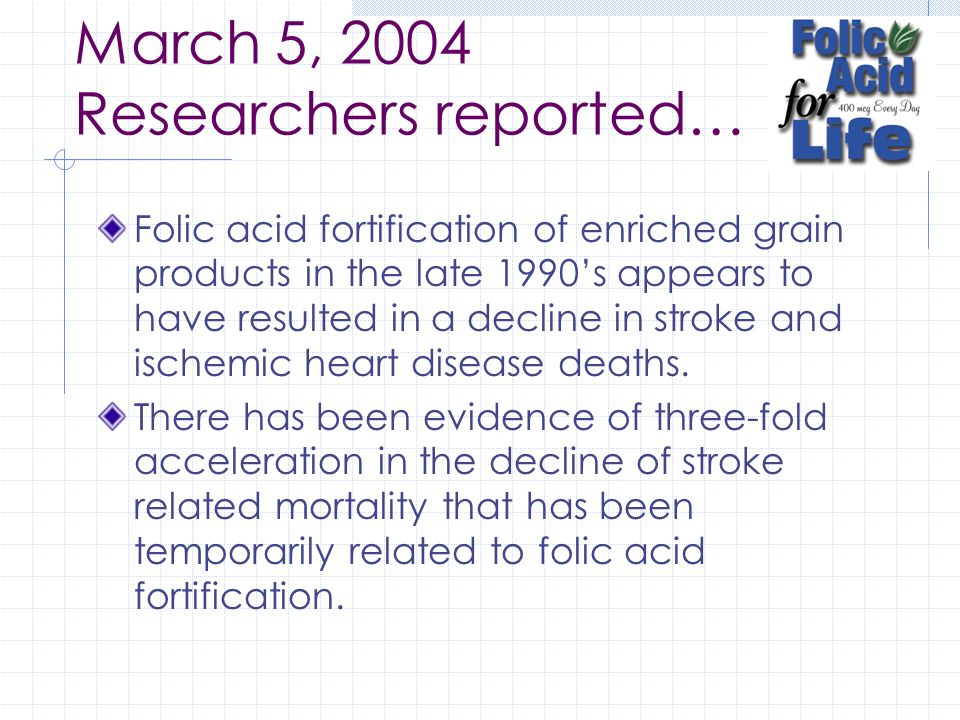March 5, 2004 Researchers reported…
