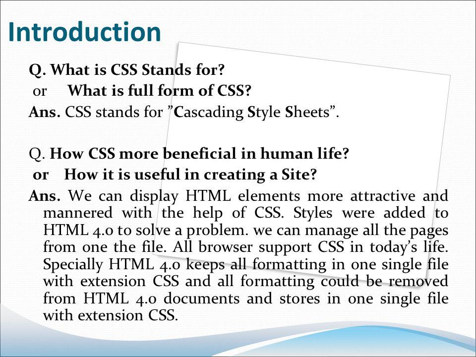 CSS Basic (cascading style she...