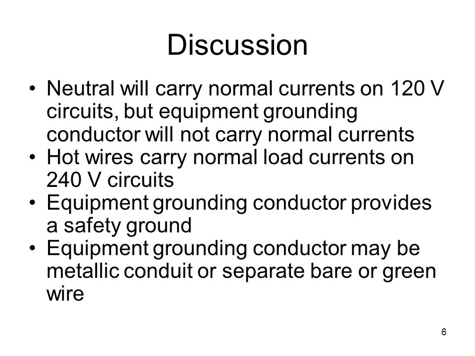 Wiring and Grounding. - ppt video online download