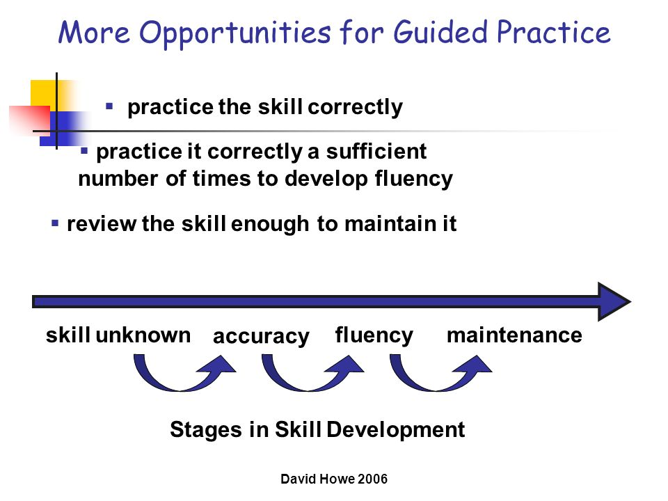 More Opportunities for Guided Practice