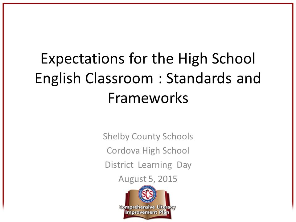 shelby county schools cordova high school district learning day rh slideplayer com Shelby County Schools Tennessee shelby county alabama schools curriculum guide