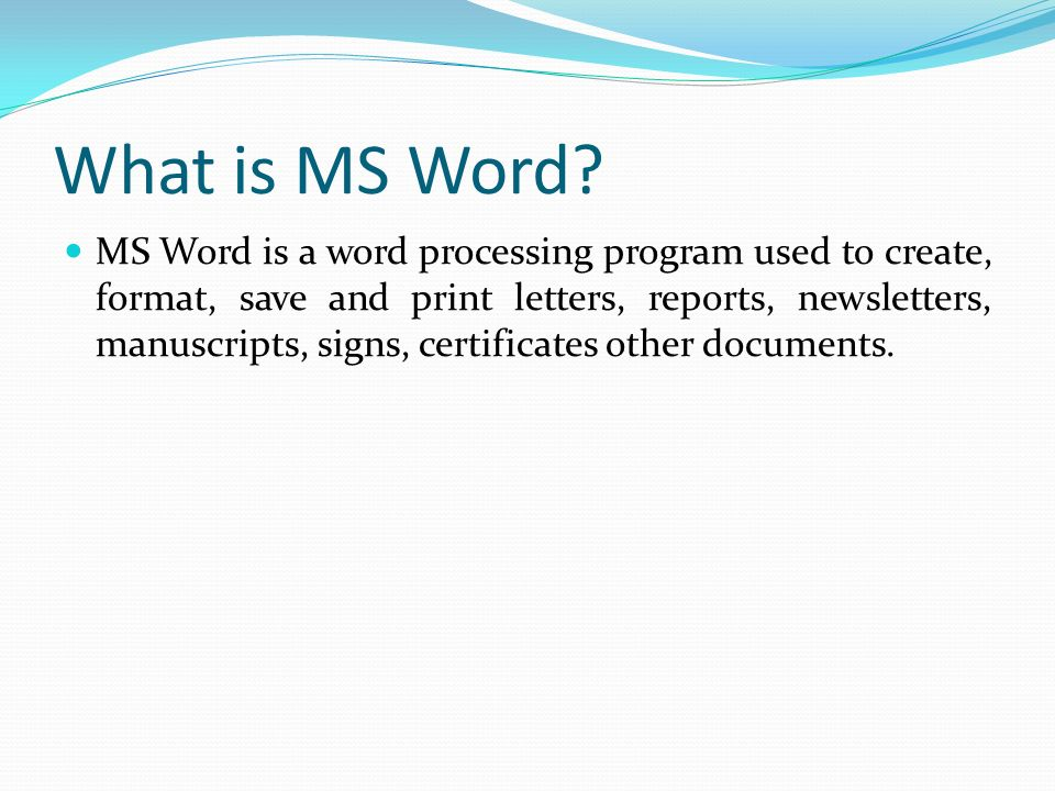 programming is a four letter word by craig bruce like introduction to ms word ppt 303