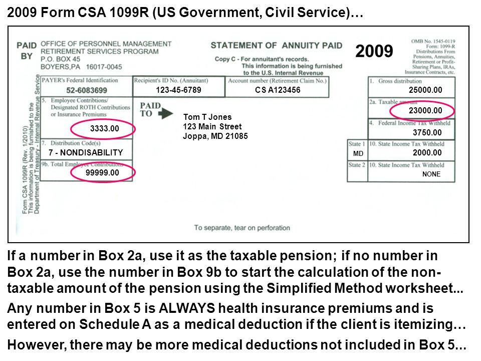 The Csa 1099r Everything You Need To Know Ppt Video Online Download