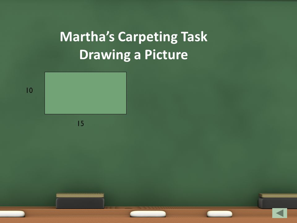 Martha's Carpeting Task Drawing a Picture