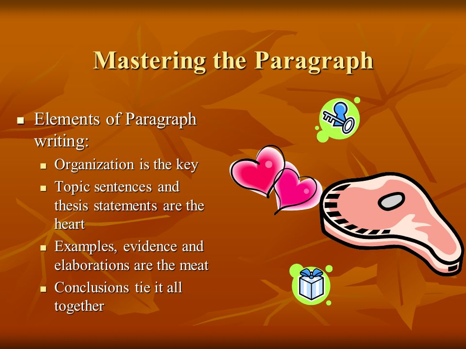 Mastering the Paragraph